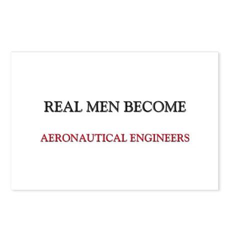 Real Men Become Aeronautical Engineers Postcards (