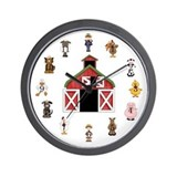 Farm Wall Clocks