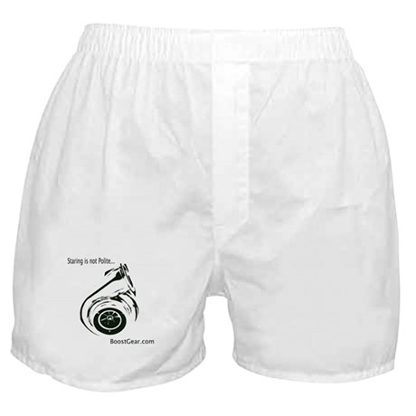 Staring Is Not Polite - BoostGear.com Boxer Shorts