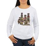 Meerkat Women's Long Sleeve T-Shirt