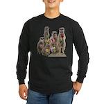 Meerkat Long Sleeve Dark T-Shirt