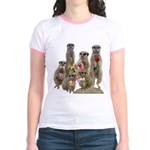 Meerkat Jr. Ringer T-Shirt