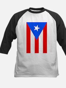 Flag of Puerto Rico - Bandera de P Baseball Jersey