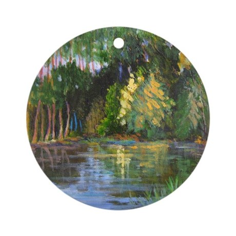 Bay Reflections Ornament (Round)