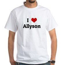 I Love Allyson Shirt