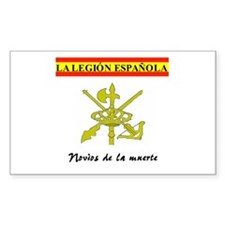 Spanish Legion Rectangle Decal