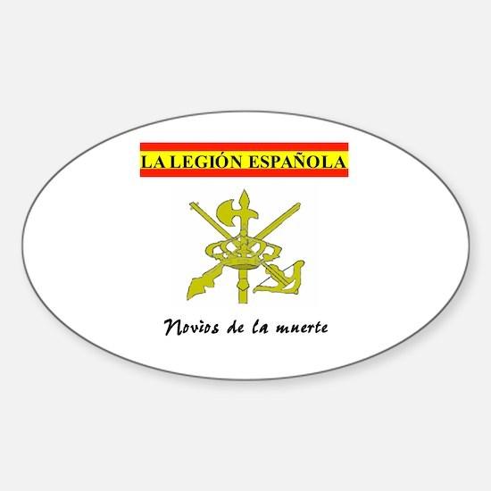 Spanish Legion Oval Decal