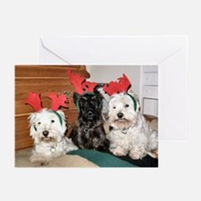 Credible Critter-Westie & Scottie Greet Cards Pk6