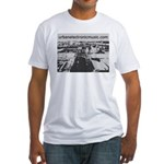 Urban Electronic Music Fitted T-Shirt