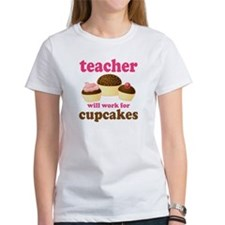 Funny Cupcake Teacher Tee
