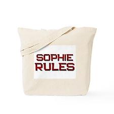 sophie rules Tote Bag