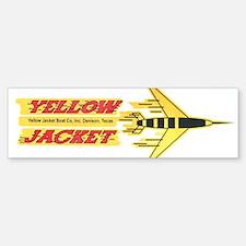 Yellow Jacket boat Bumper Bumper Bumper Sticker