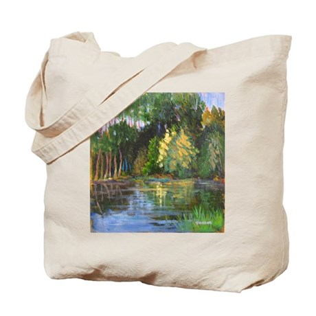 Bay Reflections Tote Bag