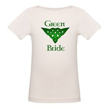 Celtic Green Bride Tee