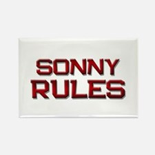 sonny rules Rectangle Magnet