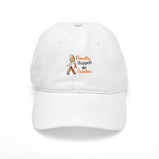 iSupport My Grandma SFT Orange Baseball Cap