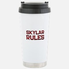 skylar rules Travel Mug