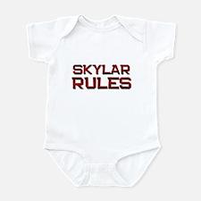 skylar rules Infant Bodysuit