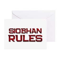 siobhan rules Greeting Card