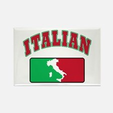 Everybody wants to be Italian Rectangle Magnet