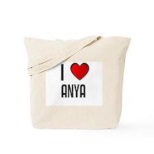 I LOVE ANYA Tote Bag