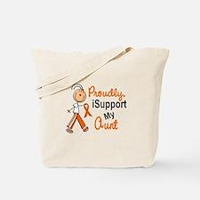 iSupport My Aunt SFT Orange Tote Bag