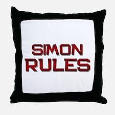simon rules Throw Pillow