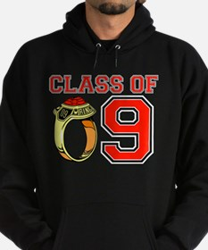 Class Of 09 (Red Ring) Hoodie
