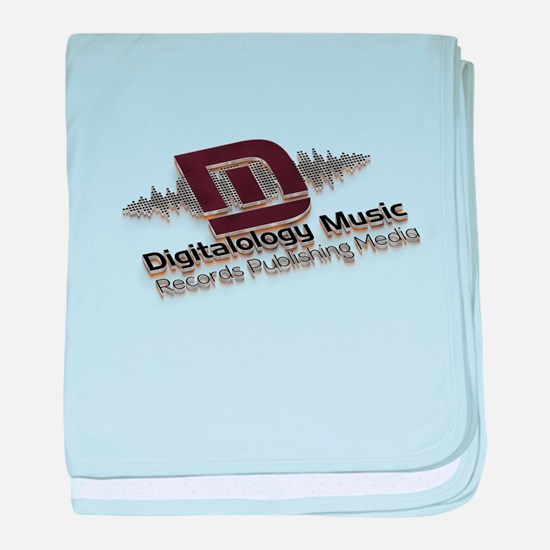 Digitalology Music baby blanket