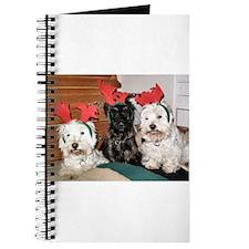 Credible Critter Westie & Scottie ChristmasJournal