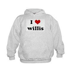 I Love willis Hoodie