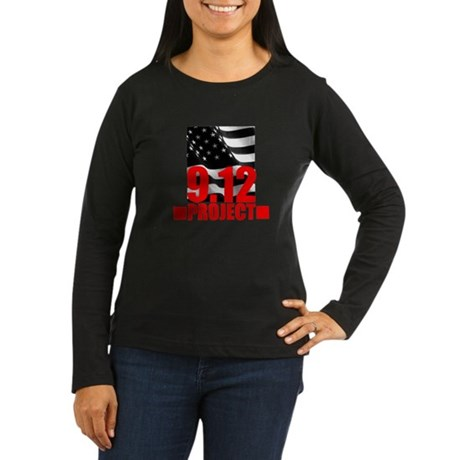 """The 9.12 Project"" Women's Long Sleeve Dark T-Shir"