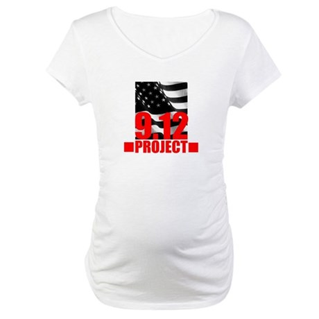 """""""The 9.12 Project"""" Maternity T-Shirt"""