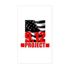 """The 9.12 Project"" Rectangle Decal"