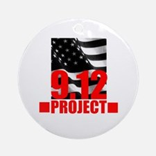 """The 9.12 Project"" Ornament (Round)"