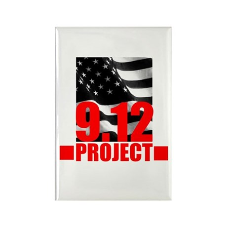 """""""The 9.12 Project"""" Rectangle Magnet"""