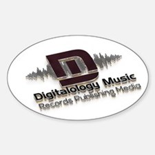 Digitalology Music Decal