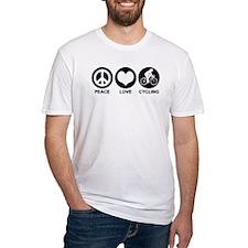 Peace Love Cycling (Female) Shirt