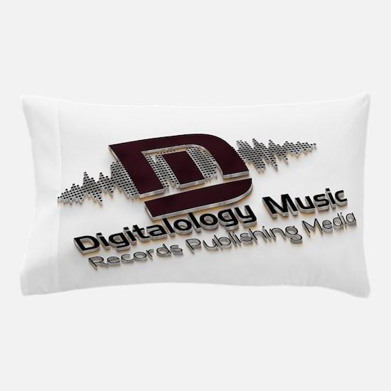 Digitalology Music Pillow Case