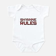 shyanne rules Infant Bodysuit
