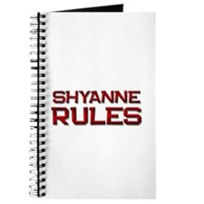 shyanne rules Journal