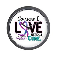 Needs A Cure 2 THYROID DISEASE Wall Clock