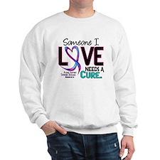 Needs A Cure 2 THYROID DISEASE Sweatshirt