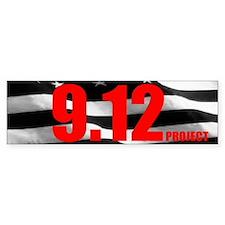 """""""The 9.12 Project"""" Bumper Sticker (50 pk)"""