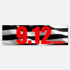 """The 9.12 Project"" Bumper Bumper Bumper Sticker"