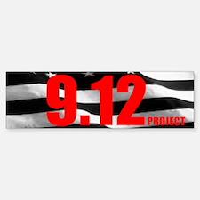"""The 9.12 Project"" Bumper Bumper Bumper Sticker"