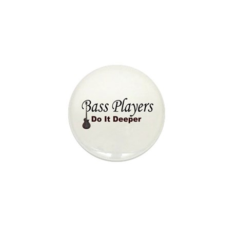 Bass Players Mini Button (10 pack)