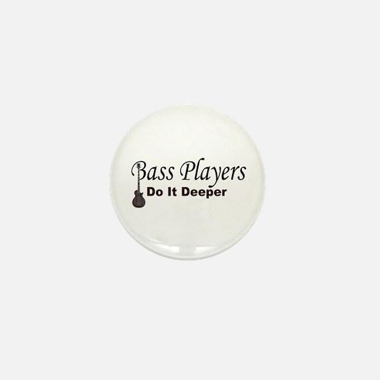 Bass Players Mini Button