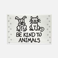 Cute Animal Rectangle Magnet (100 pack)