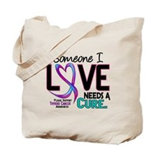 Needs A Cure 2 ALZHEIMERS Tote Bag